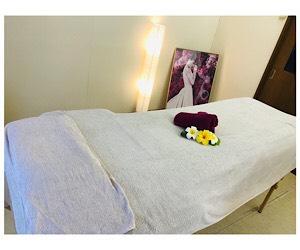 プリュボーテの施術ベッド